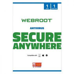 Webroot SecureAnywhere Antivirus 1 DEV/ 1 YEAR