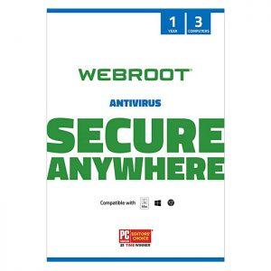 Webroot SecureAnywhere Antivirus 3 DEV/ 1 YEAR