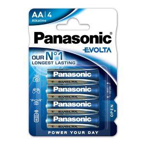Panasonic μπαταρίες Evolta aa